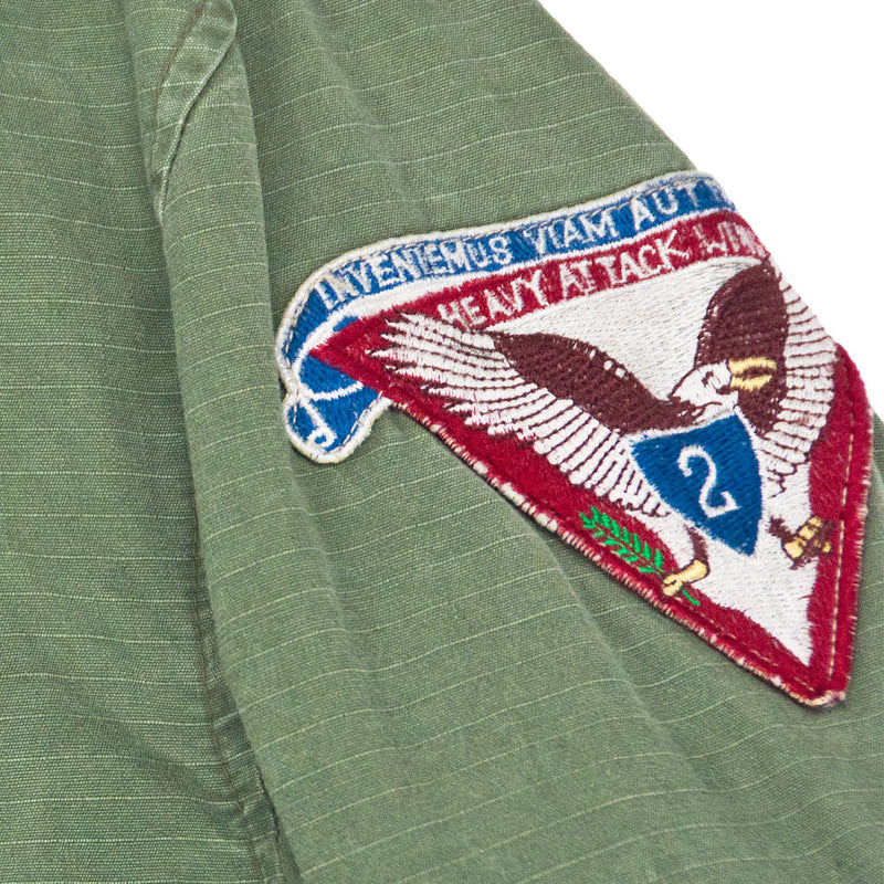 7th Fleet Tropical Flight Jacket arm patch