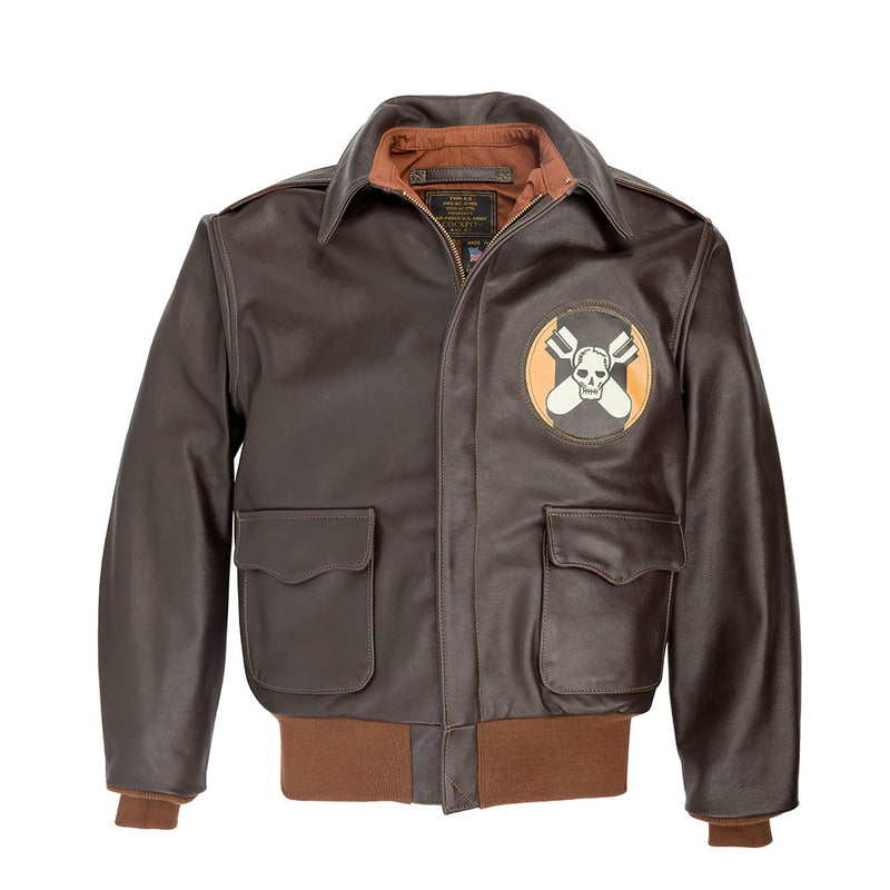 Aces and Eights Flight Jacket Z21V029