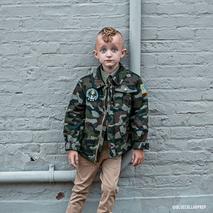 KIDS Camouflage Field Jacket