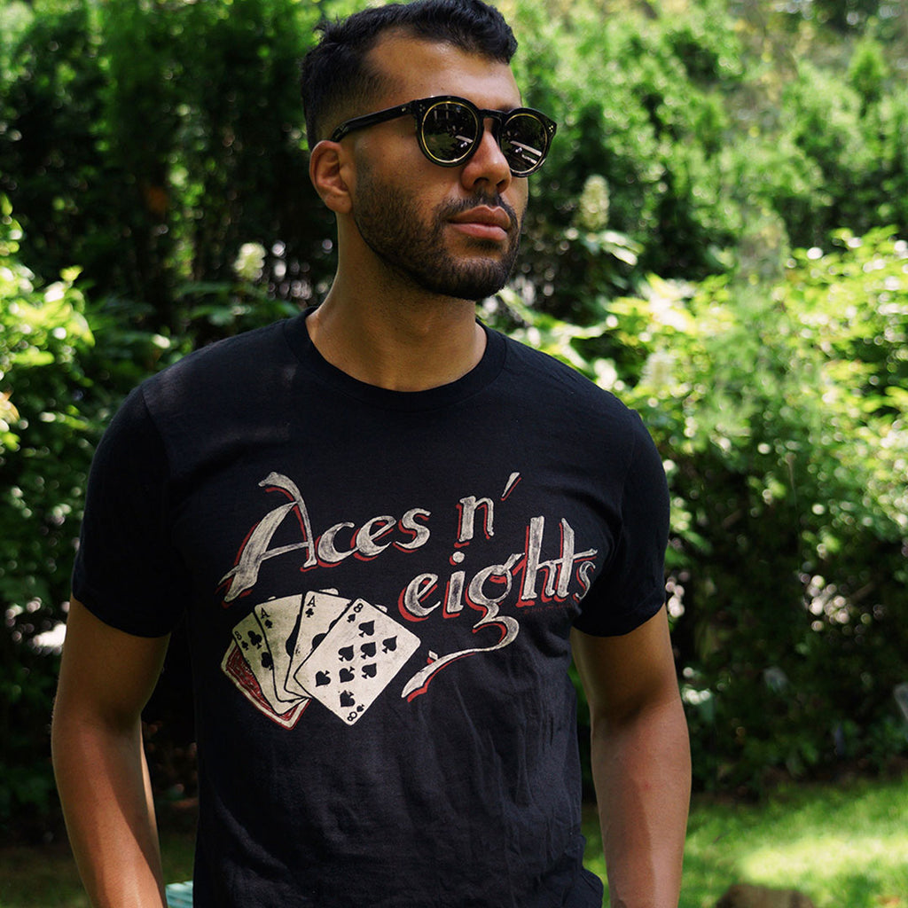Aces and Eights Tee Z12V001D