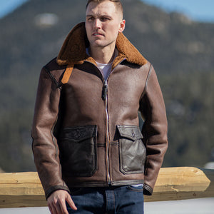 The C44 Sheepskin Flight Jacket Z21C122