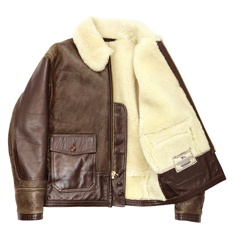 AN-J-4 Sheepskin Jacket