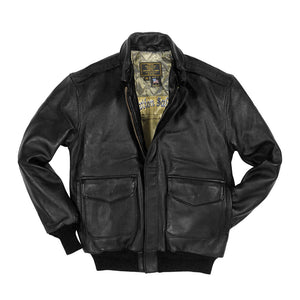 Antique Lamb Jacket in black