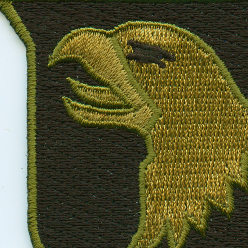 Army 101st Airborne Division Patch detail