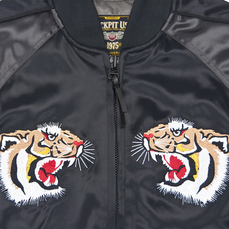 AVG Flying Tigers Souvenir Jacket chest detail