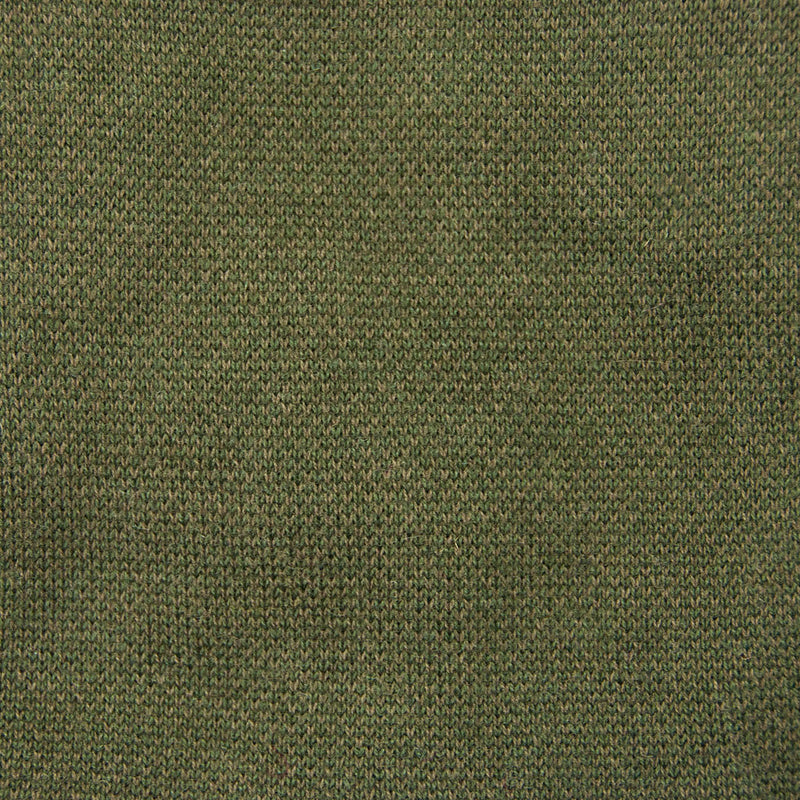 Bird's Eye Sweater Olive Knit Detail