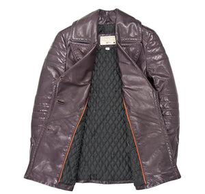 Carrier Leather Peacoat