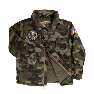 KIDS M43 Field Jacket- cockpit usa