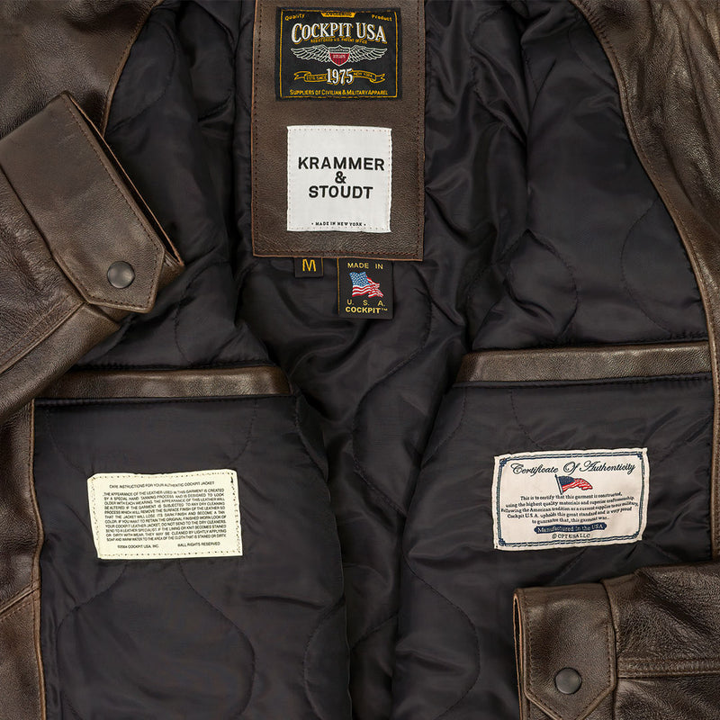 Cockpit USA X Krammer & Stoudt- Western Man Jacket