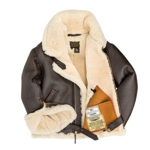 he Champ Sheepskin Jacket- Cockpit USA