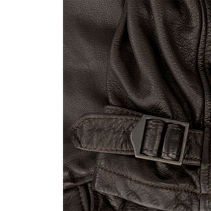 Division Commander's Leather Tanker Jacket