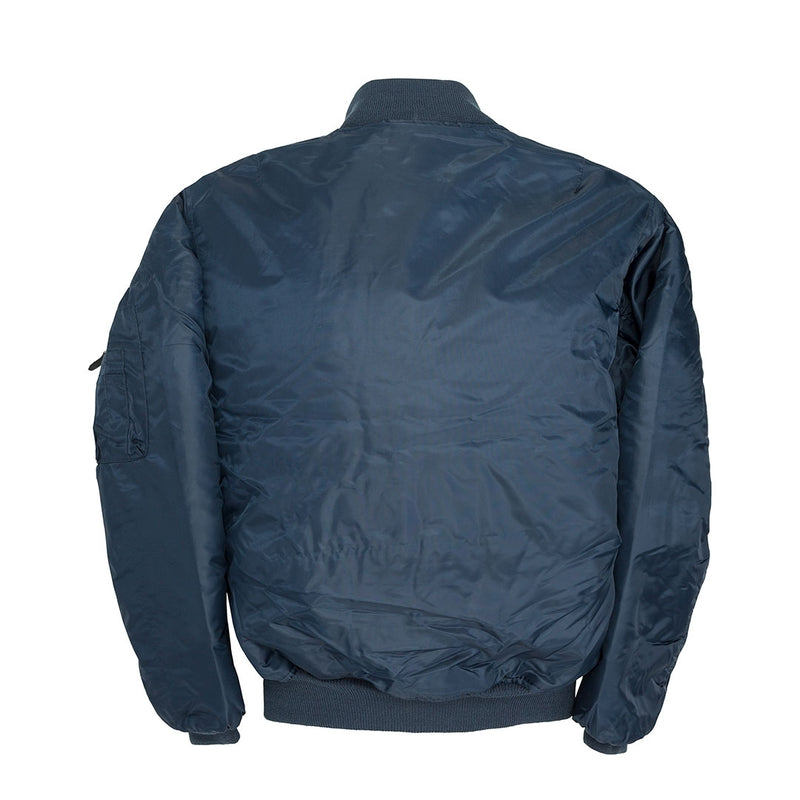 Cockpit MA-1 Bomber Jacket-Navy