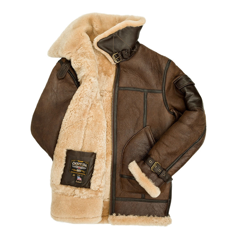 Super Fortress- Shearling Jacket