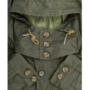 Coated Cotton Field Jacket lining detail