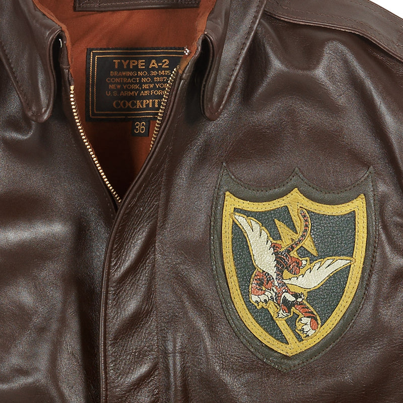 Flying Tigers 23rd Fighter Group Jacket detail