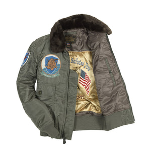 G-1 US Fighter Weapons Jacket with Patches lining