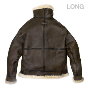 Genuine B-3 Bomber Jacket (Long) back