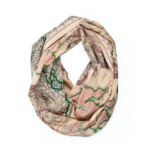 Infinity Escape Map Scarf