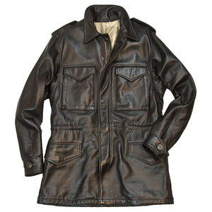 Leather M-65 Field Jacket