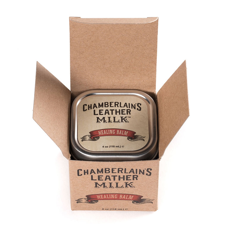 Leather Milk® Healing Balm 4oz tin