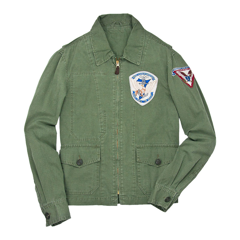 7th Fleet Tropical Flight Jacket