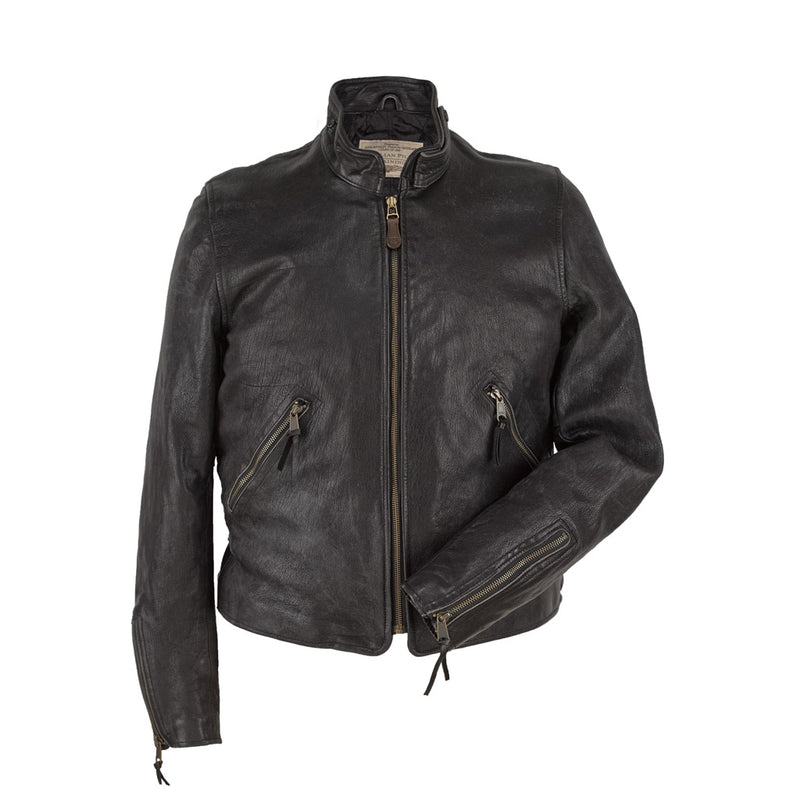 Modern Man's Motorcross Jacket in grey