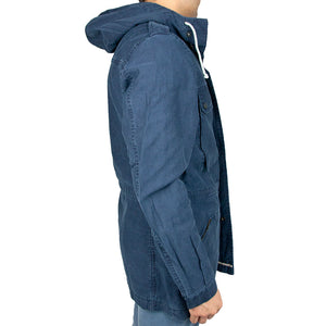 Off-Duty Cord Parka side fit