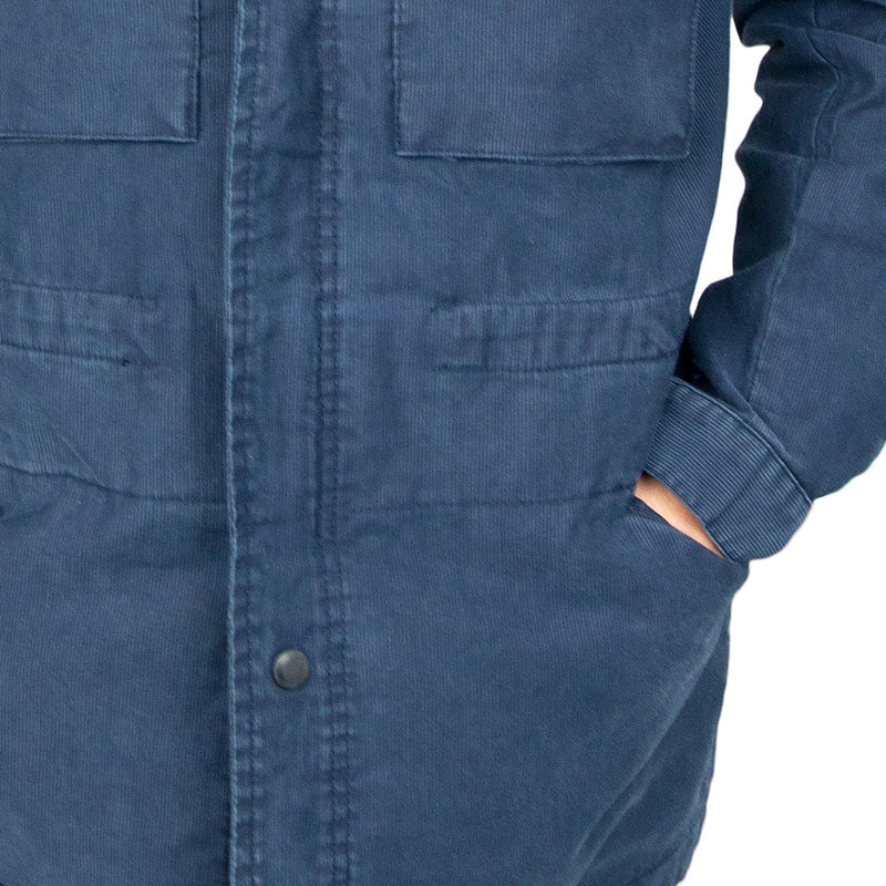 Off-Duty Cord Parka side pocket
