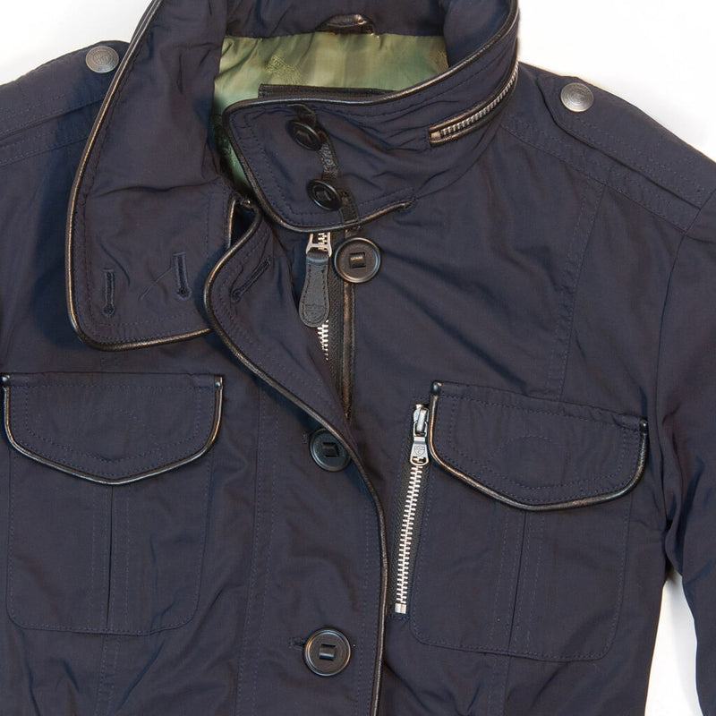 Piccadilly Lilly Field Jacket-Navy-S