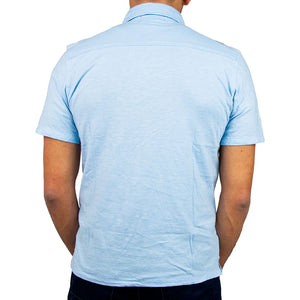 Airborne Polo Shirt back in light blue
