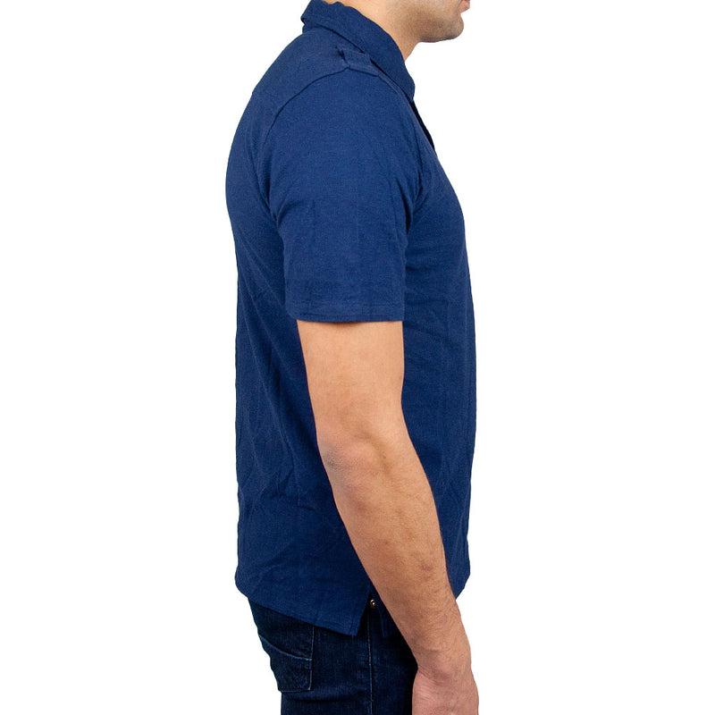 Airborne Polo Shirt side in navy
