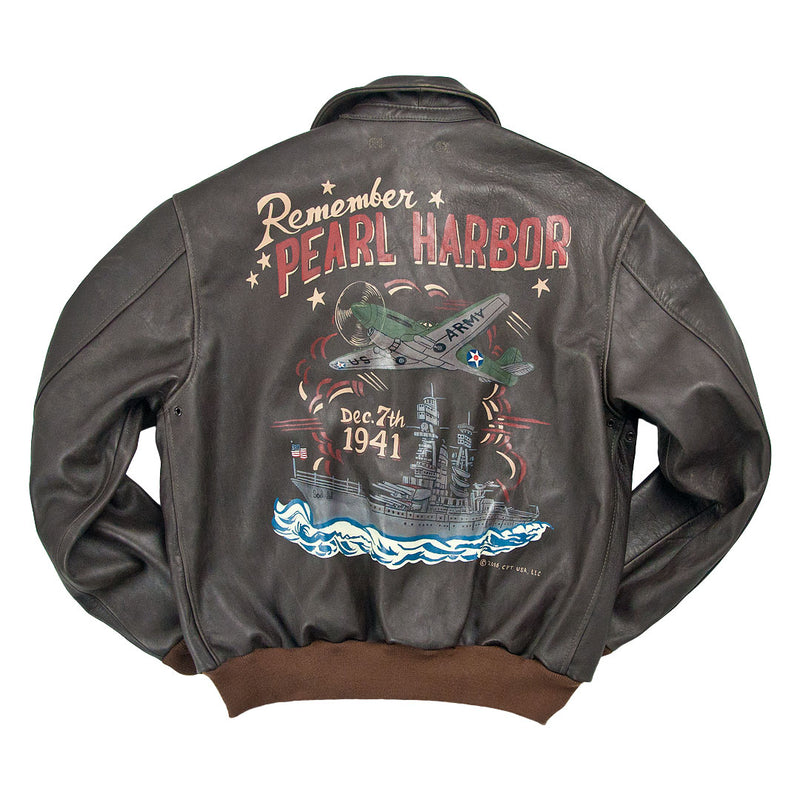 "Remember Pearl Harbor"" A-2 Flight Jacket"
