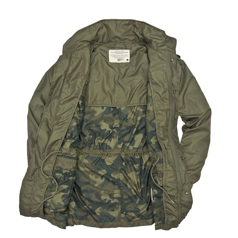 Sabre Ultralight Field Jacket open
