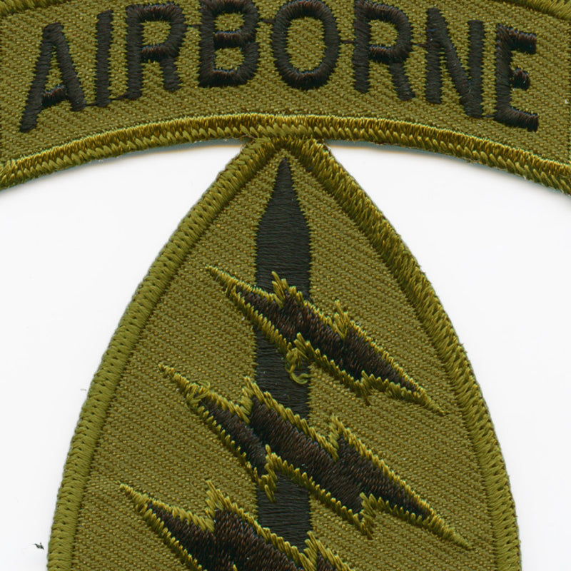 Special Forces Airborne Division Patch detail