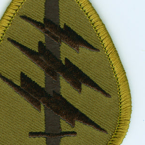 Special Forces Patch detail