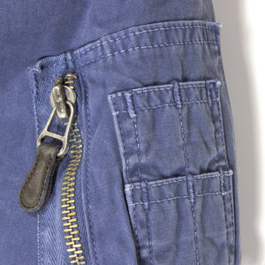 Sun Faded Cotton MA-1 Jacket pocket detail
