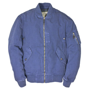 Sun Faded Cotton MA-1 Bomber Jacket
