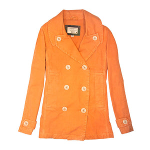 Sun Washed Cotton Peacoat