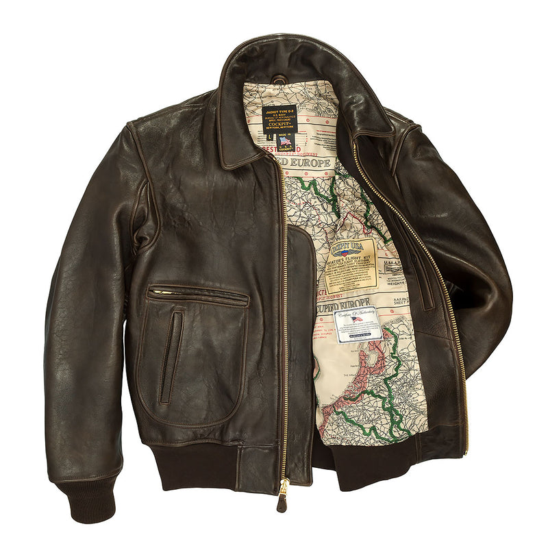 The Mod Raiders Jacket-Dark Brown