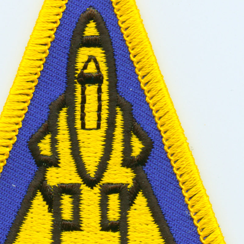USN F-14 Patch detail