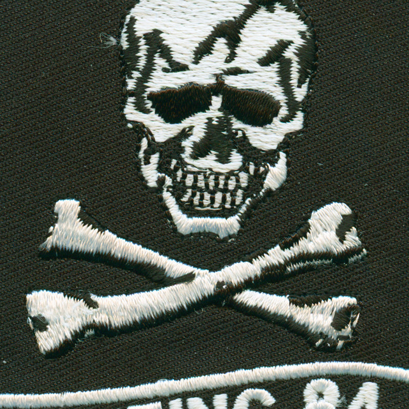 USN Fighting 84 Patch detail