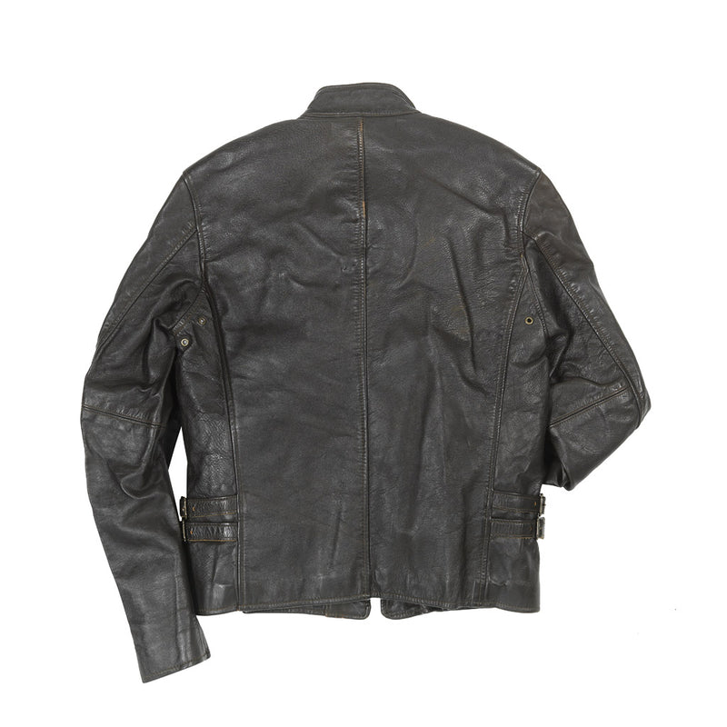 """Vintage Motorcross"" Jacket back in brown"