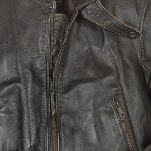 """Vintage Motorcross"" Jacket detail"