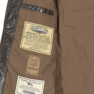Vintage Roughneck Oil Driller Jacket inside pocket detail