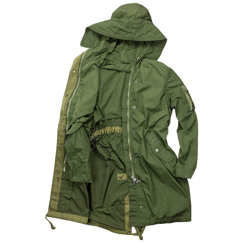 WAVES Fishtail Anorak