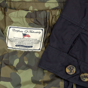 Weathered Navy Field Jacket