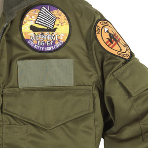 WEP Jacket With Patches patch detail
