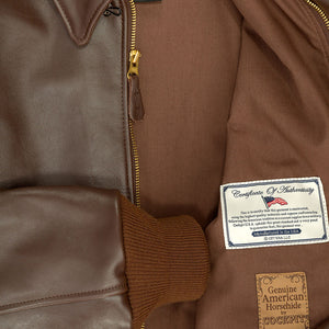 WWII Government Issue A-2 Jacket - Brown