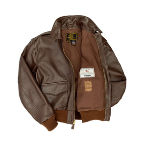 WWII Government Issue A-2 Jacket-Brown