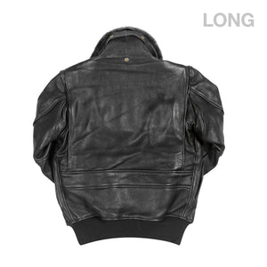U.S. Navy G-1 Flight Jacket (LONG)-Black